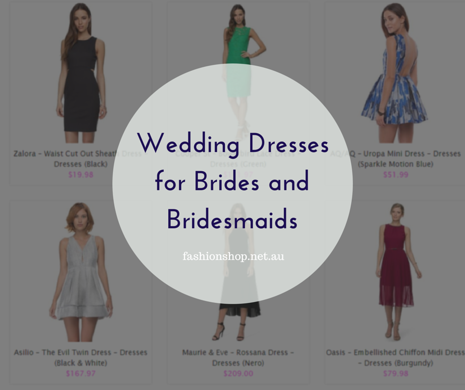 Wedding Dresses for Bridges and Bridesmaids2