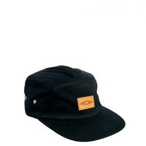 Fashion Shop - ASOS 5 Panel Cap in Black - Black