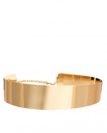 Fashion Shop - ASOS Full Metal Waist Belt - Gold