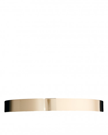 Fashion Shop - ASOS Skinny Full Metal Waist Belt - Gold