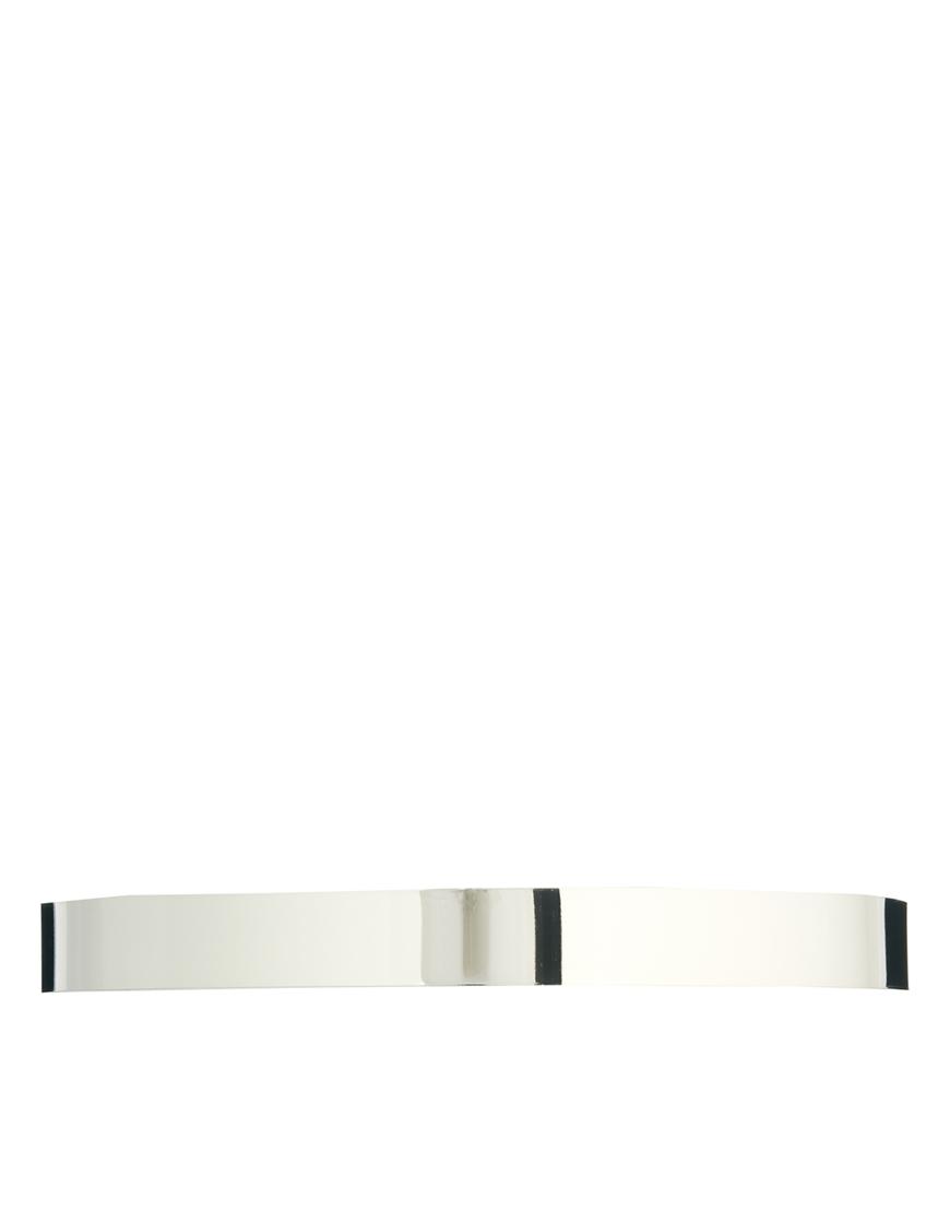 Fashion Shop - ASOS Skinny Full Metal Waist Belt - Silver
