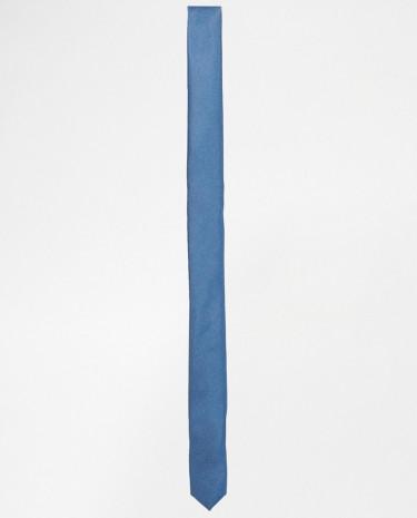 Fashion Shop - ASOS Skinny Tie - Paleblue