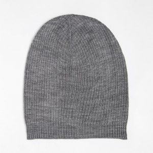 Fashion Shop - ASOS Slouchy Beanie Hat - Grey