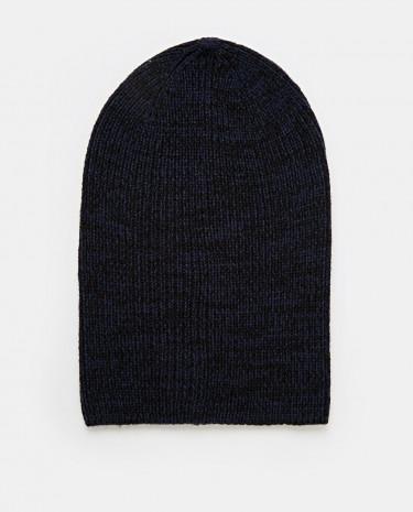 Fashion Shop - ASOS Slouchy Beanie Hat In Navy - Navy