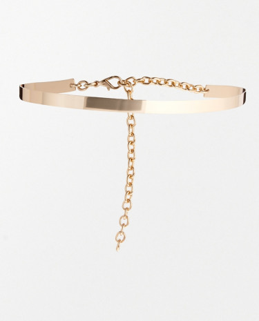 Fashion Shop - ASOS Ultra Skinny Full Metal Waist Belt - Gold