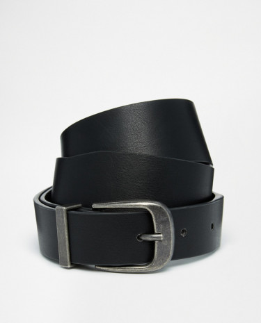Fashion Shop - ASOS Waist And Hip Belt With Pug Tipped Detail - Black