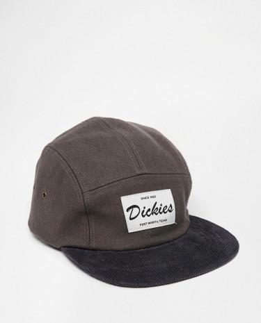 Fashion Shop - Dickies Darlington 5 Panel Cap - Grey