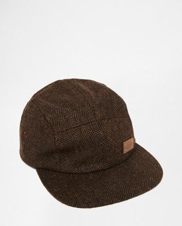 Fashion Shop - Dickies Hingham 5 Panel Cap - Brown