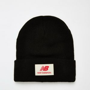 Fashion Shop - New Balance Troy Beanie Hat - Black
