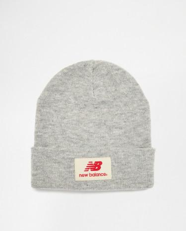 Fashion Shop - New Balance Troy Beanie Hat - Grey