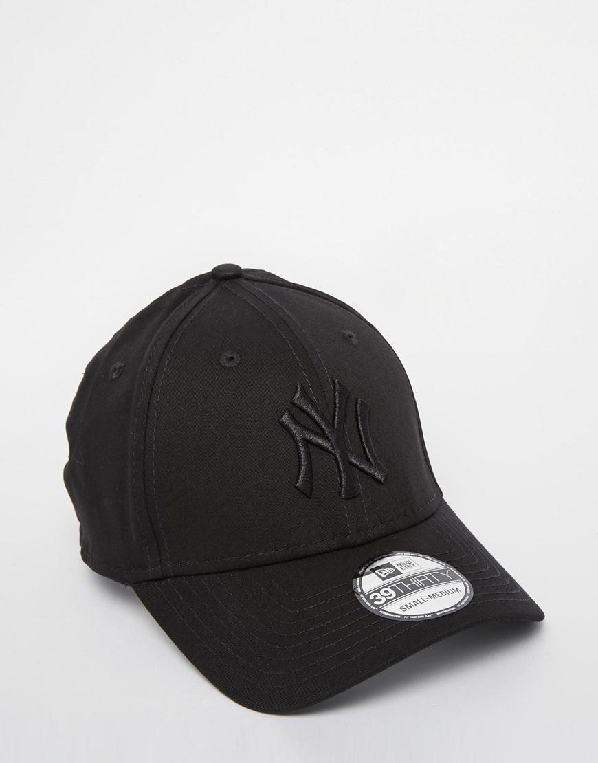 Fashion Shop - New Era 39Thirty Stretch Back Cap - Black