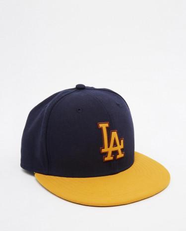 Fashion Shop - New Era 59 Fifty LA Fitted Cap - Blue
