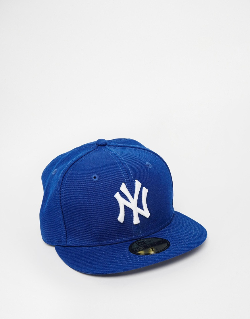 Fashion Shop - New Era 59Fifty Cap NY - Blue