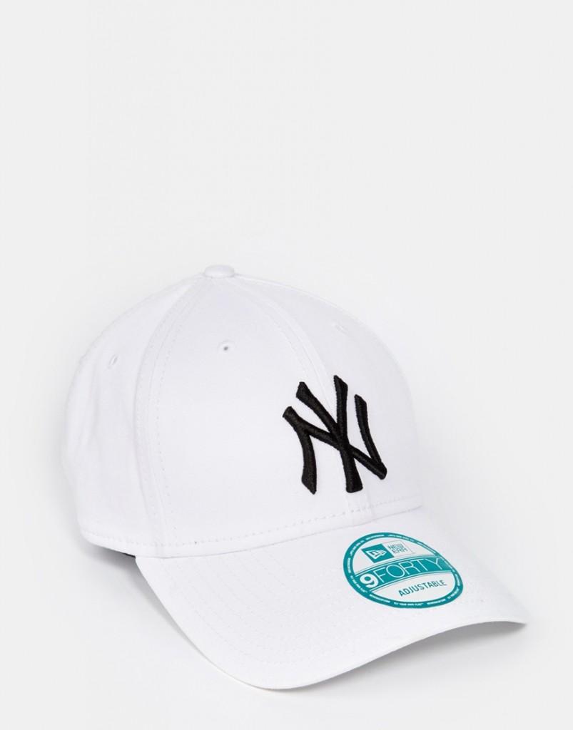 760a5713c28 Fashion Shop New Era 9Forty NY Adjustable Cap - White Fashion Shop