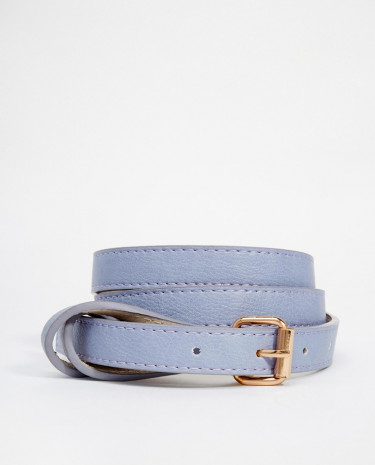 Fashion Shop - Pieces Nala Slim Jeans Belt - Purple