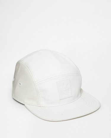 Fashion Shop - adidas Originals 5 Panel Cap in Snake AC0510 - White