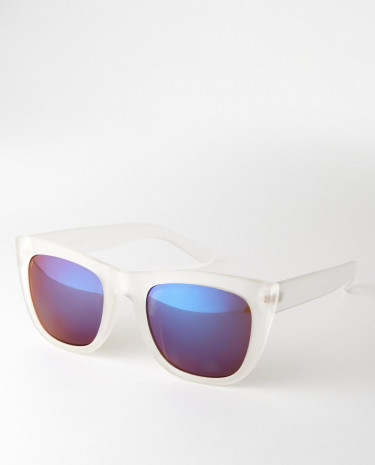 Fashion Shop - AJ Morgan Wayfarer Sunglasses - Clear