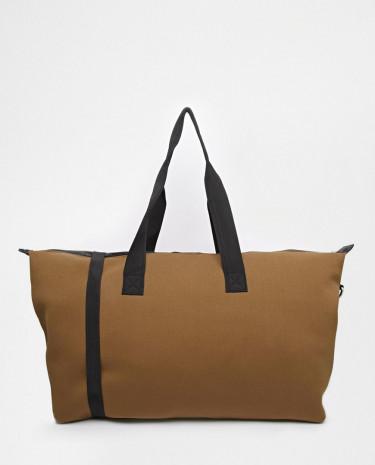Fashion Shop - ASOS Scuba Weekender Holdall Bag - Khaki