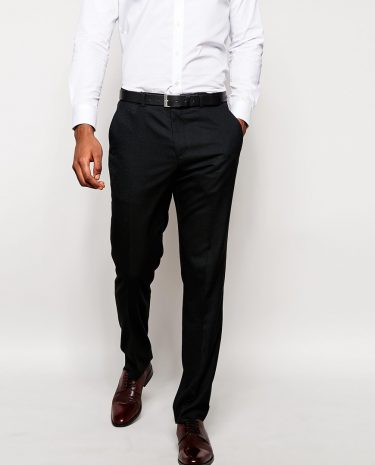 Fashion Shop - ASOS Skinny Fit Suit Pants In Navy - Navy