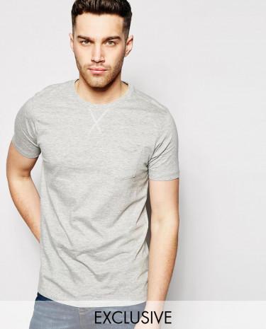 Fashion Shop - Brave Soul T-Shirt - Grey