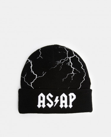 Fashion Shop - Cayler And Sons Asap Beanie Hat - Black