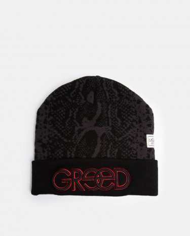 Fashion Shop - Cayler And Sons Greed Beanie Hat - Black