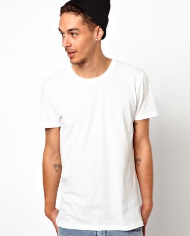 Fashion Shop - Cheap Monday Basic White T-Shirt - White