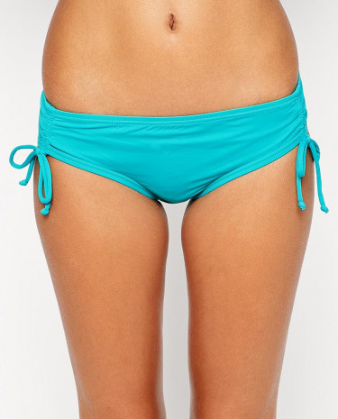 Fashion Shop - Coco Rave Tie Classic Bikini Bottoms - Jade