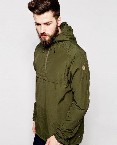 Fashion Shop - Fjallraven High Coast Wind Overhead Jacket - Olive