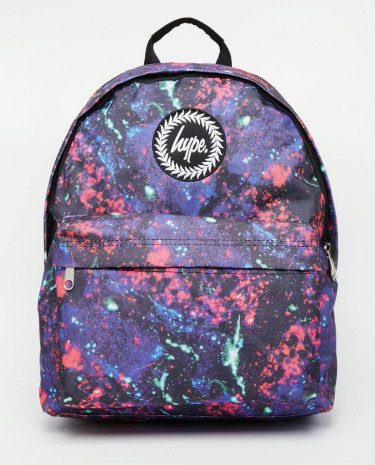 Fashion Shop - Hype Backpack in 90's Mr Motivator Print - Multi