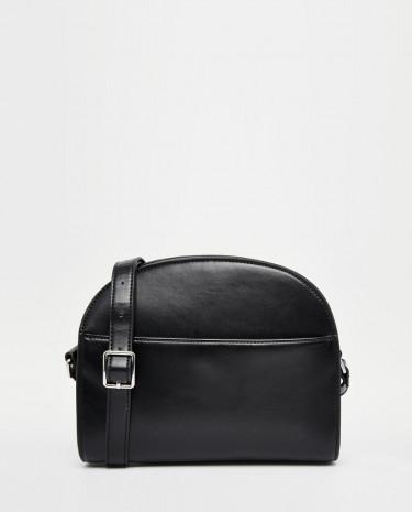 Fashion Shop - Monki Clean Black Across Body Bag - Black