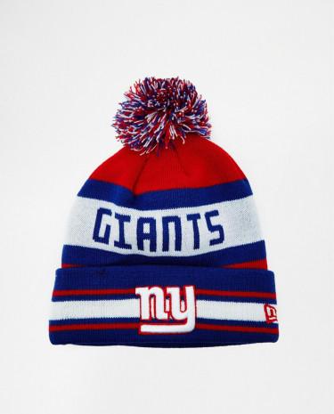 Fashion Shop - New Era Giants Bobble Hat - Blue