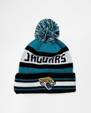 Fashion Shop - New Era Jaguars Bobble Hat - Blue