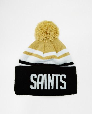 Fashion Shop - New Era Saints Bobble Hat - Grey
