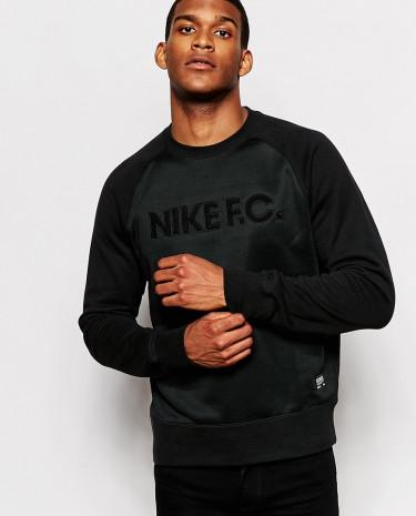 Fashion Shop - Nike FC Sweatshirt 687933-010 - Black