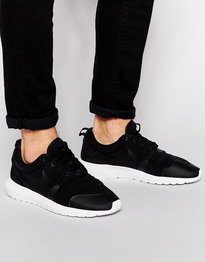 huge selection of d5fd1 0175e Fashion Shop - Nike Roshe NM Trainers 749658-001 - Black