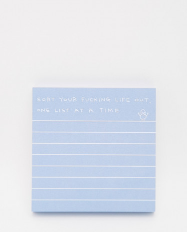Fashion Shop - Ohh Deer Sort Your Life Out Post It Notes - Multi