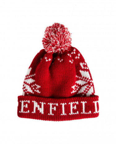 Fashion Shop - Penfield Dumont Bobble Hat - Burgundy
