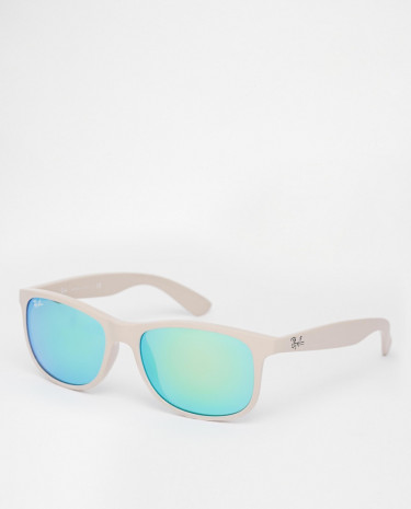 Fashion Shop - Ray-Ban Wayfarer Sunglasses 0RB4202 - Beige