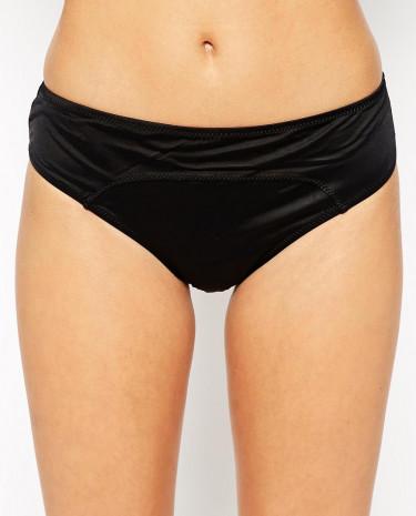 Fashion Shop - Robyn Lawley Scuba Bikini Bottom - Black