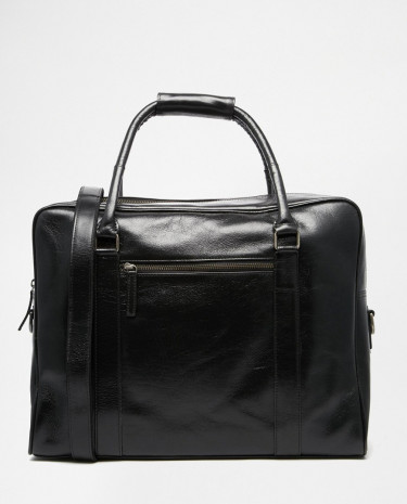 Fashion Shop - Royal RepubliQ Duke Leather Holdall - Black