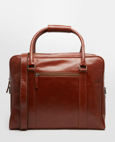 Fashion Shop - Royal RepubliQ Duke Leather Holdall - Brown