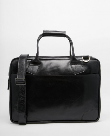 Fashion Shop - Royal RepubliQ Nano Single Leather Satchel - Black