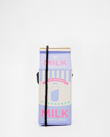 Fashion Shop - Skinnydip Milk Across Body Bag - Lilac