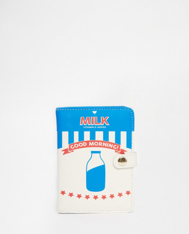 Fashion Shop - Skinnydip Milk Passport Holder - Multi