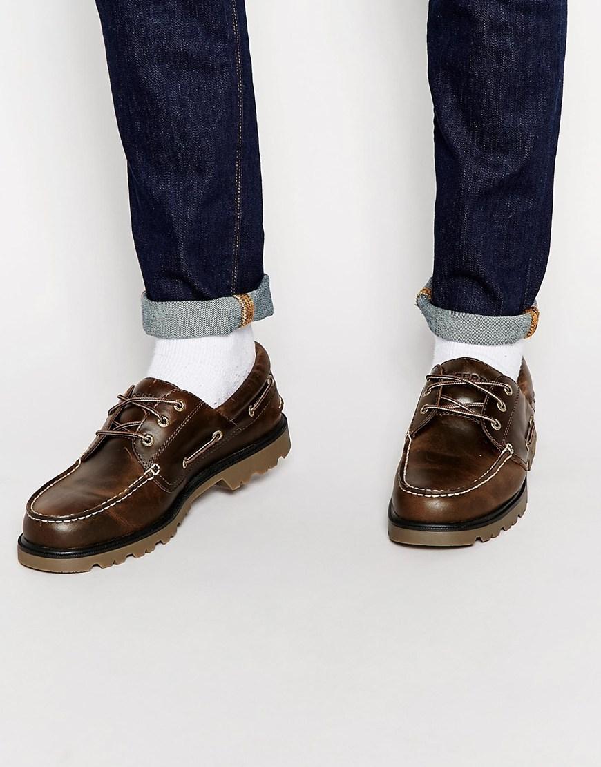 Sperry Lug Sole 3-Eye Boat Shoes