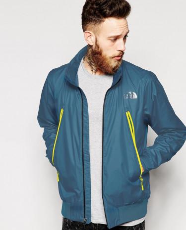 Fashion Shop - The North Face Diablo Wind Jacket - Blue