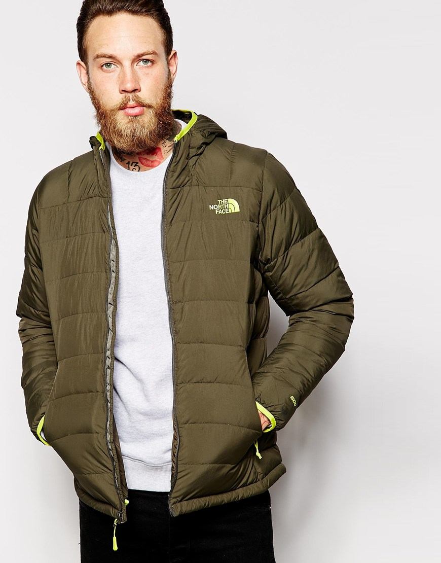 d3e17ad44aad Fashion Shop The North Face La Paz Down Jacket with Hood - Green ...