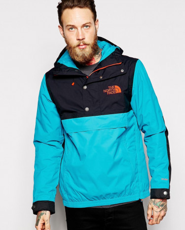 Fashion Shop - The North Face Rage Mountain Anorak - Blue