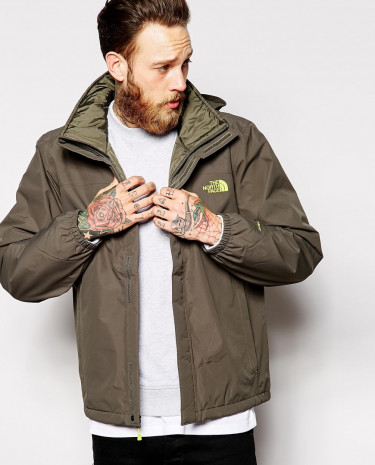 Fashion Shop - The North Face Resolve Insulated Jacket - Green